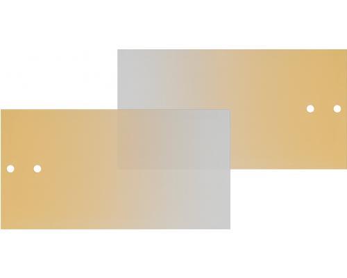 Mio Predné plochy na skrinku s koľajničkami žlté sklo
