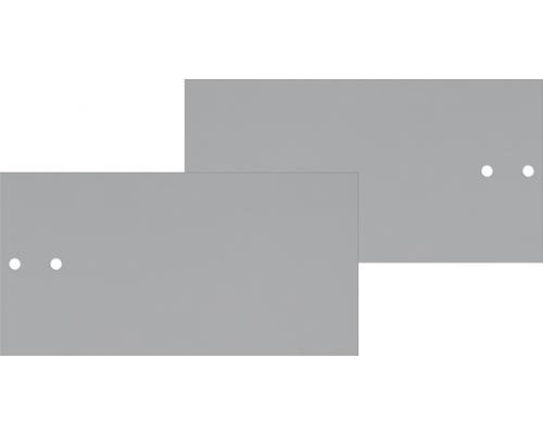Mio Predné plochy na skrinku s koľajničkami svetlo sivé