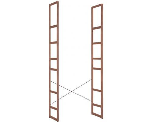 Mio Rebrík sekretára vysoký 2ks s krížom pre stabilizáciu