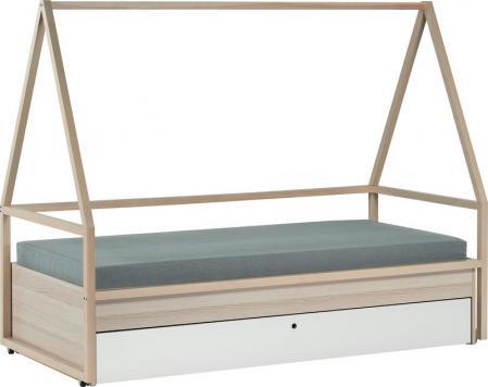 Konštrukcia postele Tipi