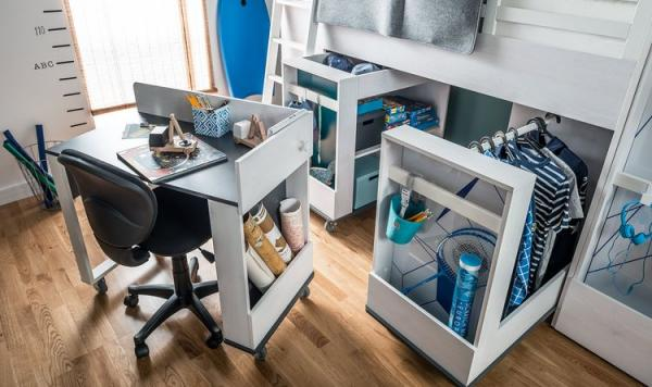 PC stolík postele Multi